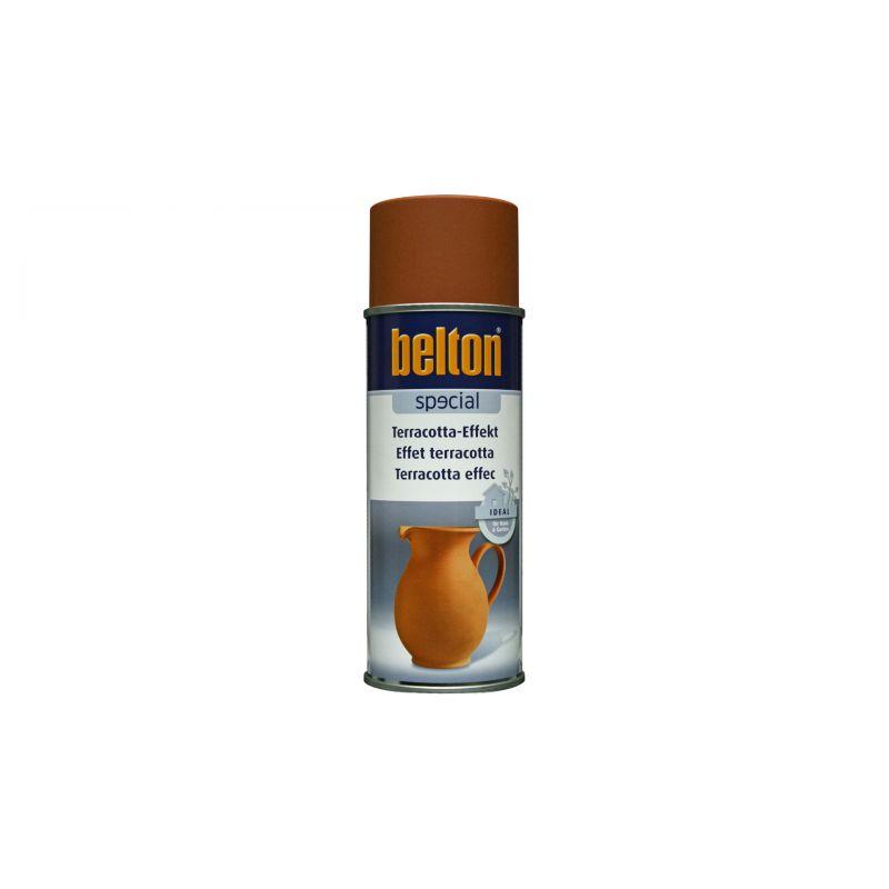 belton spraydose terracotta effekt lack manganbraun 400 ml spray. Black Bedroom Furniture Sets. Home Design Ideas