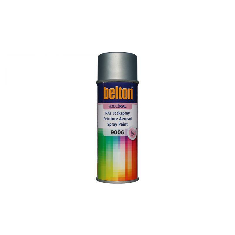 Belton spectral ral 9006 white aluminium spraycan 400ml for Fenetre ral 9006