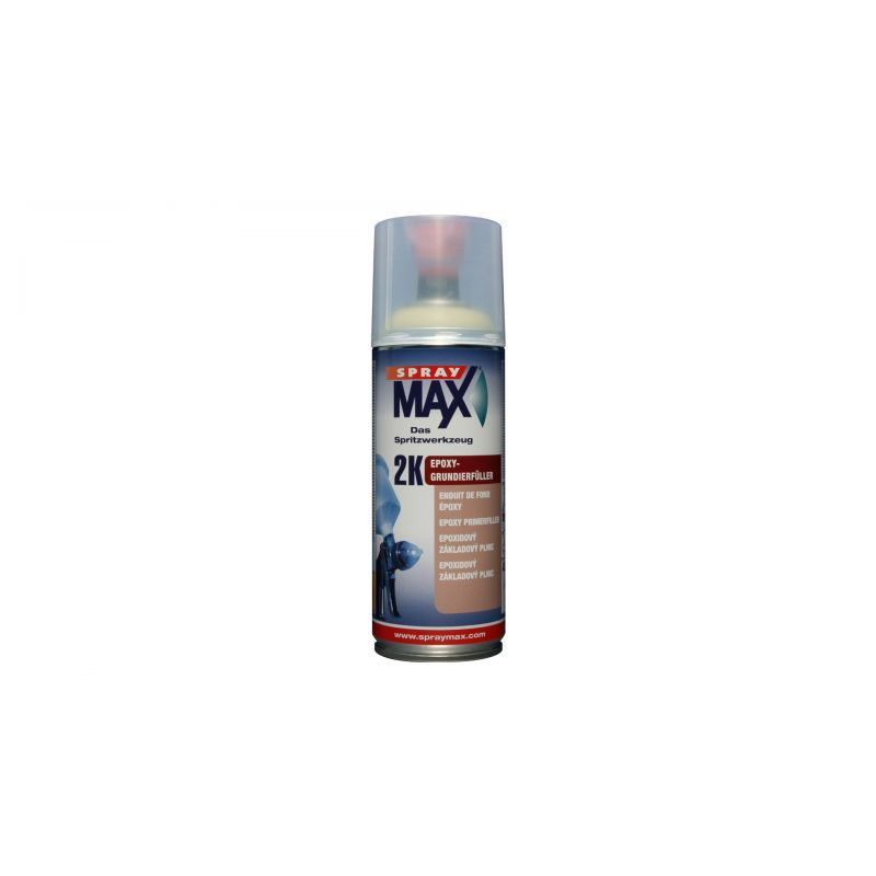 spray max 2k epoxy grundierf ller grau 400ml. Black Bedroom Furniture Sets. Home Design Ideas